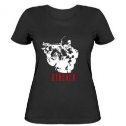 Женская футболка Stalker - FatLine