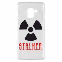 Чехол для Samsung A8 2018 Stalker