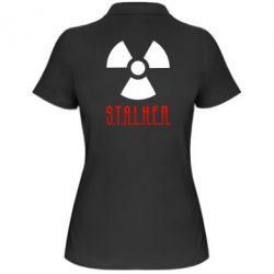 Женская футболка поло Stalker