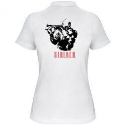 Женская футболка поло Stalker - FatLine