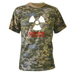 Камуфляжная футболка Stalker