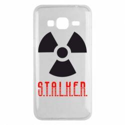 Чехол для Samsung J3 2016 Stalker