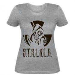 Купить Женская футболка Сталкер, FatLine