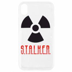 Чехол для iPhone XR Stalker
