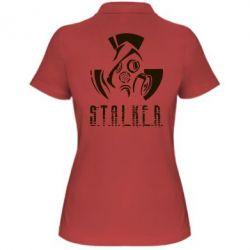Купить Женская футболка поло Сталкер, FatLine