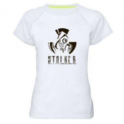 Купить Женская спортивная футболка Сталкер, FatLine