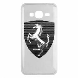 Чохол для Samsung J3 2016 Stallion metal