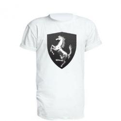 Подовжена футболка Stallion metal