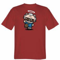 Чоловіча футболка Stan lee in hello kitty style