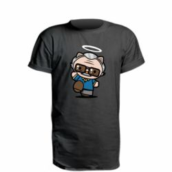 Подовжена футболка Stan lee in hello kitty style