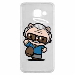 Чохол для Samsung A3 2016 Stan lee in hello kitty style