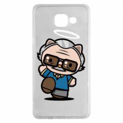 Чохол для Samsung A5 2016 Stan lee in hello kitty style