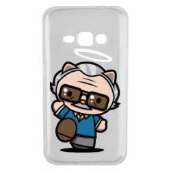 Чохол для Samsung J1 2016 Stan lee in hello kitty style