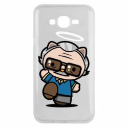 Чохол для Samsung J7 2015 Stan lee in hello kitty style