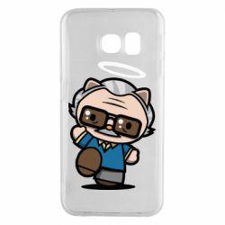 Чохол для Samsung S6 EDGE Stan lee in hello kitty style