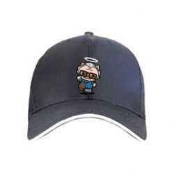 Кепка Stan lee in hello kitty style
