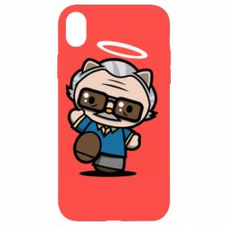 Чохол для iPhone XR Stan lee in hello kitty style