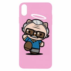 Чохол для iPhone Xs Max Stan lee in hello kitty style