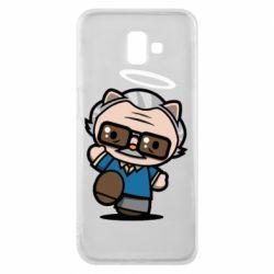 Чохол для Samsung J6 Plus 2018 Stan lee in hello kitty style