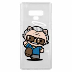 Чохол для Samsung Note 9 Stan lee in hello kitty style