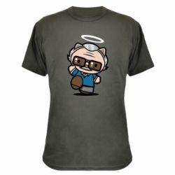 Камуфляжна футболка Stan lee in hello kitty style