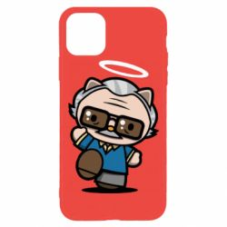 Чохол для iPhone 11 Pro Stan lee in hello kitty style