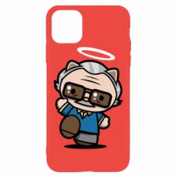 Чохол для iPhone 11 Pro Max Stan lee in hello kitty style