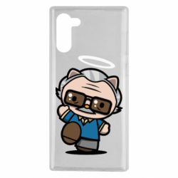 Чохол для Samsung Note 10 Stan lee in hello kitty style