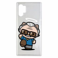Чохол для Samsung Note 10 Plus Stan lee in hello kitty style