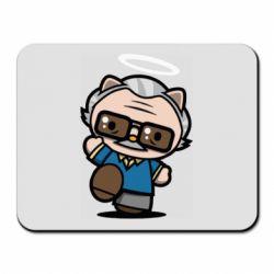 Килимок для миші Stan lee in hello kitty style