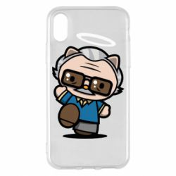 Чохол для iPhone X/Xs Stan lee in hello kitty style