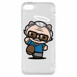 Чохол для iphone 5/5S/SE Stan lee in hello kitty style