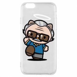 Чохол для iPhone 6/6S Stan lee in hello kitty style