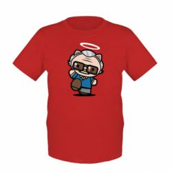 Дитяча футболка Stan lee in hello kitty style