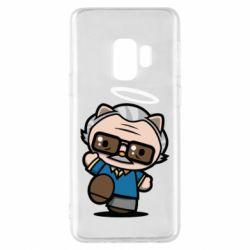 Чохол для Samsung S9 Stan lee in hello kitty style