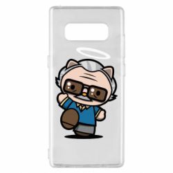 Чохол для Samsung Note 8 Stan lee in hello kitty style