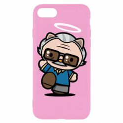 Чохол для iPhone 8 Stan lee in hello kitty style