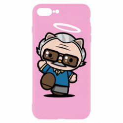 Чохол для iPhone 8 Plus Stan lee in hello kitty style