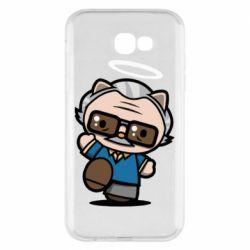 Чохол для Samsung A7 2017 Stan lee in hello kitty style
