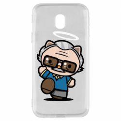 Чохол для Samsung J3 2017 Stan lee in hello kitty style
