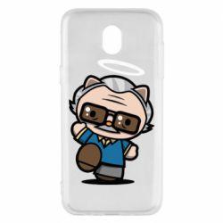 Чохол для Samsung J5 2017 Stan lee in hello kitty style