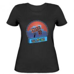 Женская футболка Stand up, speak out