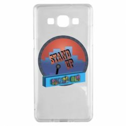 Чехол для Samsung A5 2015 Stand up, speak out