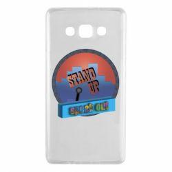 Чехол для Samsung A7 2015 Stand up, speak out