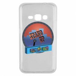 Чехол для Samsung J1 2016 Stand up, speak out