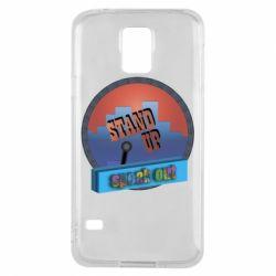 Чехол для Samsung S5 Stand up, speak out