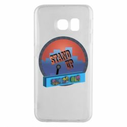 Чехол для Samsung S6 EDGE Stand up, speak out