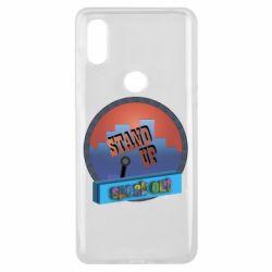 Чехол для Xiaomi Mi Mix 3 Stand up, speak out