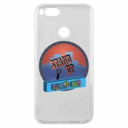 Чехол для Xiaomi Mi A1 Stand up, speak out
