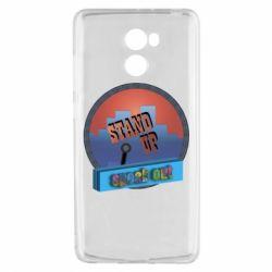 Чехол для Xiaomi Redmi 4 Stand up, speak out